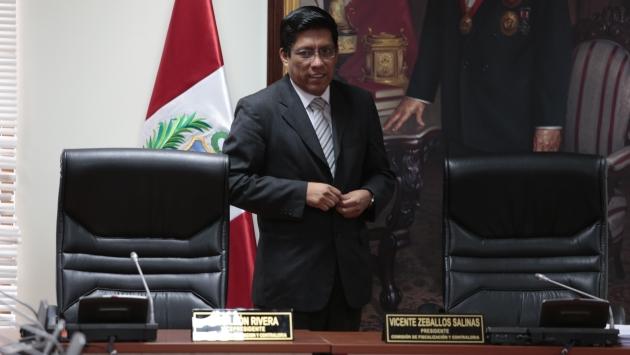 Comisión de Fiscalización vería caso de la cuñada de Fredy Otárola. (César Fajardo)