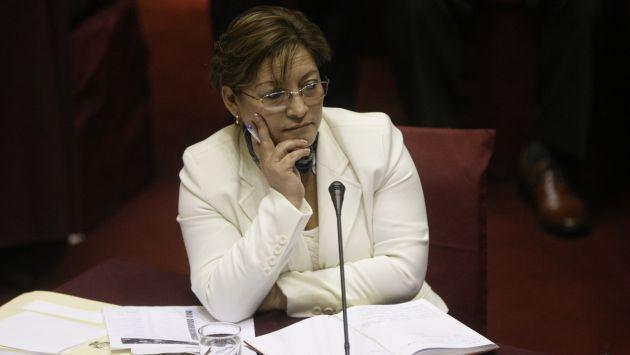 Fiscalización pediría facultades especiales para investigar a Dacia Escalante. (Rafael Cornejo)