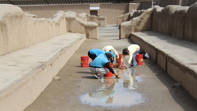 Retiran 12 mil litros de agua. (USI)