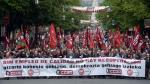 Trabajadores reclamaron empleos y salarios justos - Noticias de manuel valls
