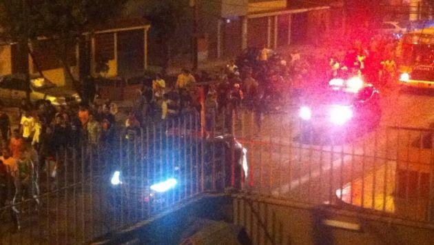 San Miguel: Tres heridos de bala y cinco detenidos deja pelea de ... - Perú21