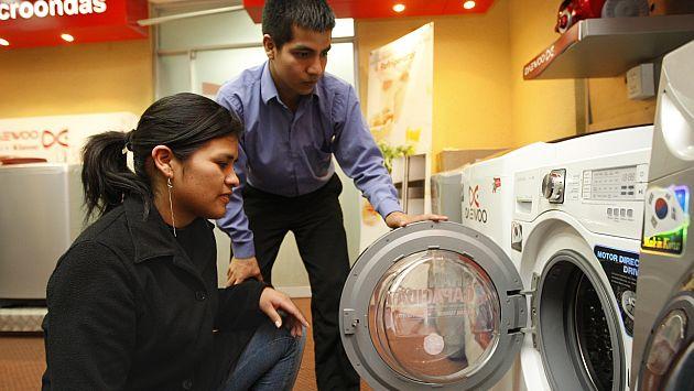 Lavadoras con capacidad entre 14 y 20 kilos serán las más demandadas. (USI)