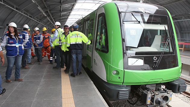 Metro de Lima: En junio empezará a funcionar Tramo 2 de la Línea 1. (USI)