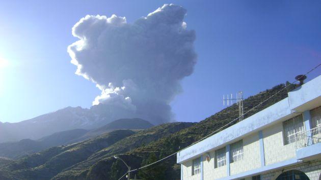 Moquegua: Piden ampliación de emergencia por ceniza del volcán Ubinas. (Heiner Aparicio)