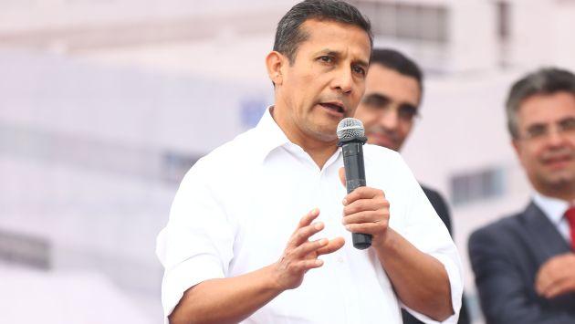 Aprobación de Ollanta Humala se mantiene en 28%. (Mario Zapata)