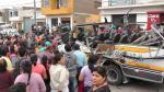 Chosica: Choque entre cúster de 'El Chosicano' y trailér dejó un muerto - Noticias de santa eulalia