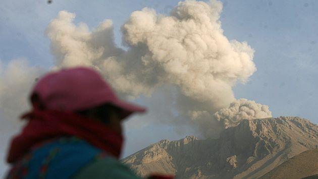 Volcán Ubinas: Ingemmet pide no bajar la guardia ante la calma. (Heiner Aparicio)