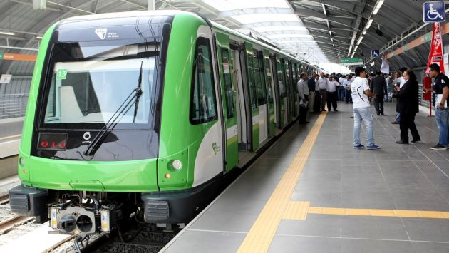 Pruebas en tramo 2 de Línea 1 serán solo con público invitado. (Perú21)