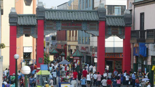 Barrio Chino lucirá renovado el 2015. (USI)