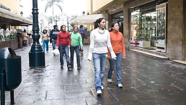 Senamhi: Invierno no será tan frío en Lima por fenómeno El Niño. (USI)