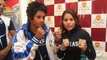 Linda Lecca segura de coronarse campeonal mundial supermosca de la AMB - Noticias de daniela bermudez