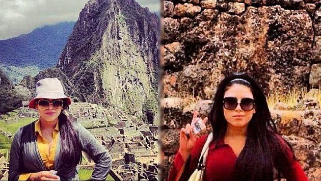 'La Emperatriz Los Ántrax', reina del narco en México, visitó Machu Picchu. (Internet)