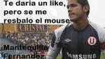 Memes: Vacilan a Raúl Fernández por su 'blooper' en el Perú-Inglaterra - Noticias de fernández