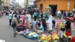 Lima retirará a 4 mil ambulantes no autorizados antes de fin de año - Noticias de ordenanza municipal