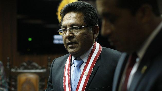 Fiscalización recaba información sobre Carlos Ramos Heredia. (David Vexelman)