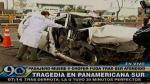 San Juan de Miraflores: Fuga chofer que causó accidente que dejó un muerto - Noticias de puente alipio ponce