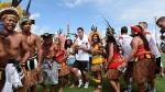 Brasil 2014: Miroslav Klose celebró su cumpleaños con nativos - Noticias de lukas podolski