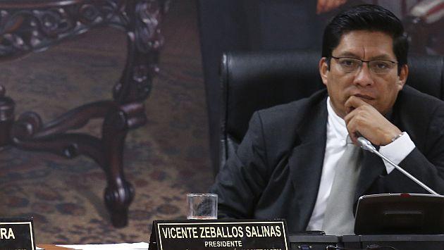 Congresista respondió a críticas del presidente Ollanta Humala. (Luis Gonzales)