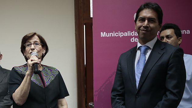 Amigo de gerente municipal José Miguel Castro fue beneficiado con préstamos de Caja Metropolitana. (César Fajardo)