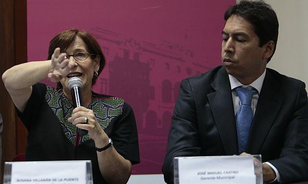 José Miguel Castro, gerente de Villarán, tiene mucho que explicar. (USI)