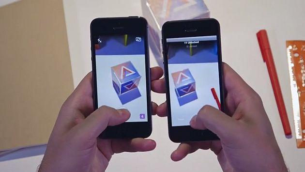 Slingshot debutó en EEUU tanto para las últimas versiones de los sistemas operativos iOS de Apple como para los Android de Google. (Captura Youtube)