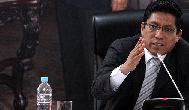 Zeballos insiste en que se agende el informe Ecoteva para se vea en el Pleno. (USI)