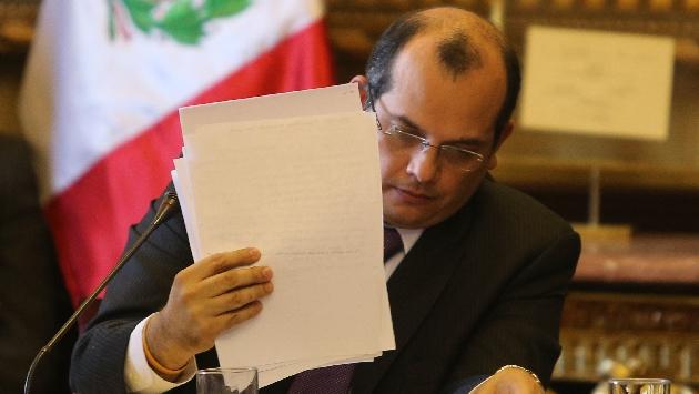 El ministro de Economía ha sido invitado para resolver las consultas de los congresistas. (Martín Pauca)