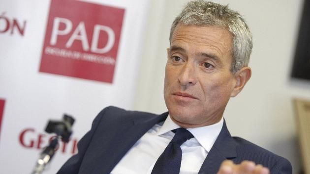 García Miró pide promover la inversión privada. (Manuel Melgar)