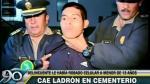 Cercado de Lima: Capturan a hampón que robó celular a una niña - Noticias de comisaría de santoyo