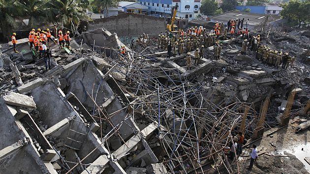 India derrumbe de dos edificios deja al menos 20 muertos - Ap construcciones ...