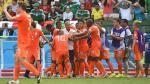 Copa del Mundo 2014: Holanda ganó 2-1 a México y ya está en cuartos - Noticias de daley blind