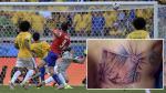 Mauricio Pinilla se tatuó la jugada que pudo cambiar la historia de Chile - Noticias de mauricio pinilla