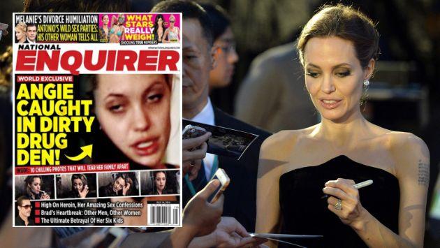 Angelina Jolie ya había confesado que en el pasado consumió drogas. (EFE/Internet)