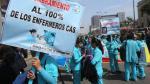 Enfermeras de Essalud llevan 22 días en huelga - Noticias de escala de remuneraciones