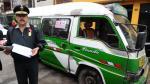 San Juan de Lurigancho: Chofer con 119 papeletas arrastró a comisario - Noticias de papeletas de transito