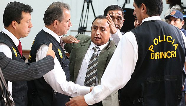 Gregorio Santos seguirá recluido en Piedras Gordas proceso por corrupción. (Perú21)