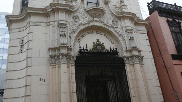 Defensoría del Pueblo detectó mal estado de pistas en Lima. (USI)