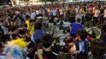 Copacabana: Brasileños y argentinos se enfrentan tras final del Mundial - Noticias de paulo andre