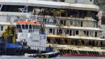 Costa Concordia: Restos del crucero de lujo fueron reflotados - Noticias de francesco schettino