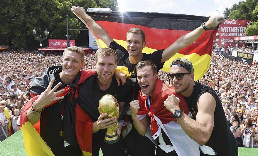 Alemania lidera ránking de la FIFA y España baja a octavo puesto