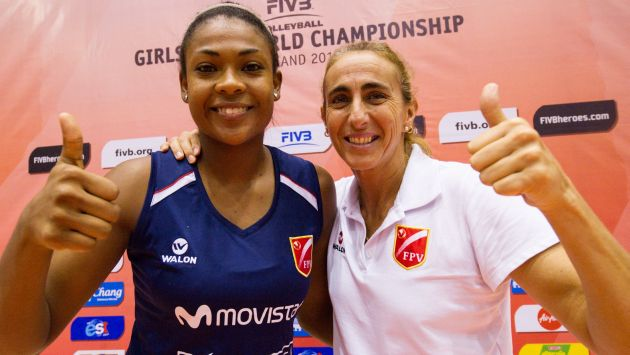Ángela Leyva tiene el respaldo de Natalia Málaga. (USI)