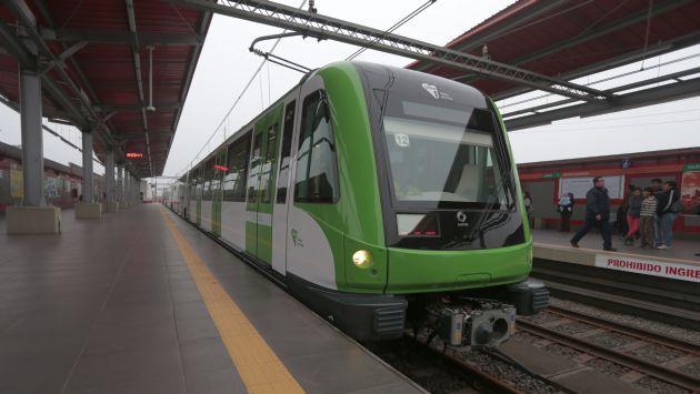 Toda la ruta del Metro de Lima operará desde el próximo fin de semana. (Perú21)