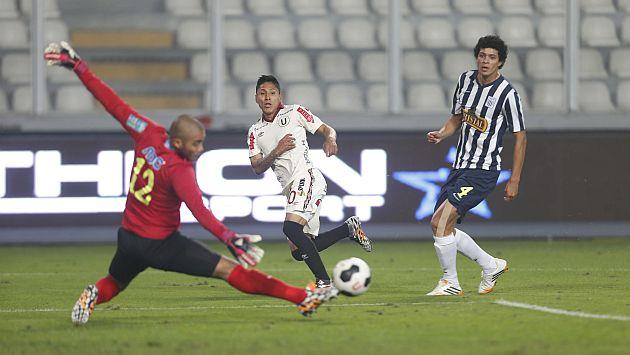 Universitario ganó 1-0 a Alianza Lima en el Nacional. (Luis Gonzales/CMD-Movistar TV)