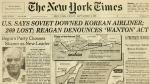 Malaysia Airlines: La historia del avión surcoreano derribado por la URSS - Noticias de iran