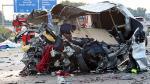 Alemania: Nueve muertos por colisión en cadena en autopista de Dresde - Noticias de accidente de transito