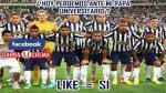 Torneo Apertura 2014: Hinchas de la 'U' se burlan de la derrota aliancista - Noticias de torneo apertura