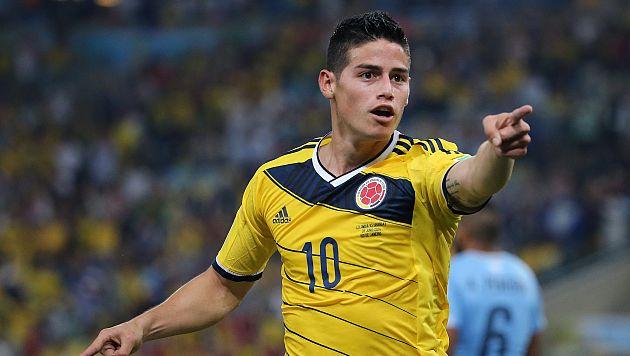 Golazo de James Rodríguez ante Uruguay elegido como el mejor de Brasil 2014