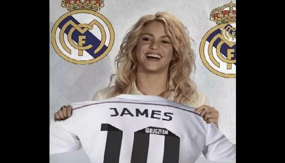Real Madrid, Memes, James Rodríguez