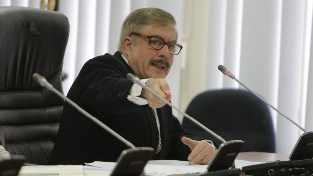 Empresario José Pazos Holder acusó a legislador Spadaro de estar al servicio la organización de Orellana. (Mario Zapata)