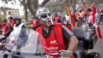 Fiestas Patrias: Motociclistas forman la bandera peruana más larga del mundo - Noticias de edwin derteano